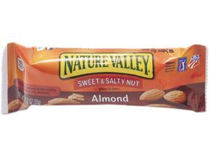 General Mills SN42068 Nature Valley Granola Bars, Sweet & Salty Nut Almond Cereal, 1.2oz Bar, 16/Box