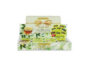 Bigelow 30568 Green Tea Assortment, Individually Wrapped, Eight Flavors, 64 Tea Bags/Box