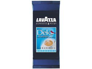 Lavazza 0603 Espresso Point Cartridges, 100% Arabica Blend Decaf, .25 oz, 50/Box
