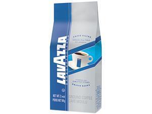 Lavazza 2410 Gran Filtro Italian Light Roast Coffee, Arabica Blend, Whole Bean, 2 1/5 Bag