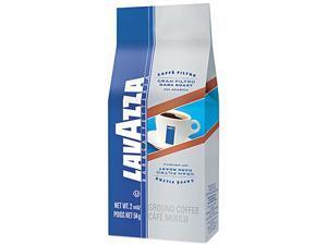 Lavazza 2431 Gran Filtro Italian Dark Roast Coffee, 2.25 oz., Ground Fraction Pack, 30/Carton