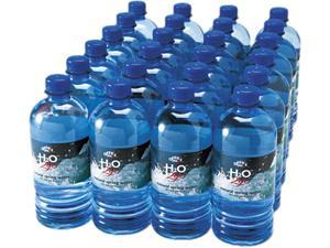 Office Snax 00027 Bottled Spring Water, 20 oz., 24 Bottles/Carton
