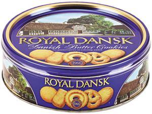 Royal Dansk 53005 Cookies, Danish Butter, 12oz Tin