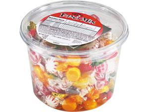 Office Snax 70009 Fancy Assorted Hard Candy, Individually Wrapped, 2lb Tub
