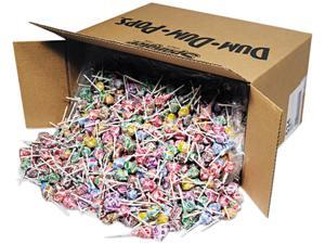 Spangler 534 Dum-Dum-Pops, Assorted Flavors, Individually Wrapped, Bulk 30lb Box