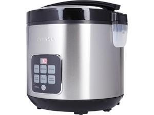 Tayama TRC-50H1 10-Cup Digital Rice Cooker and Food Steamer