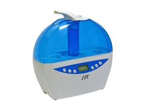 Sunpentown SU-2081B Blue Digital Ultrasonic Humidifier with Hygrostat Sensor