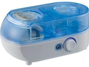 SPT SU-1052 Personal Ultrasonic Humidifier with ION Technology, Blue/White