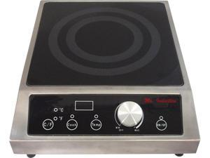 Sunpentown SR-343C 3,400W Built-in Induction Cooktop (Commercial Use)