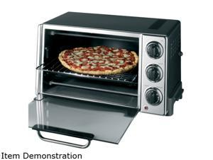 DeLonghi RO2058 Silver Convection Oven with Rotisserie