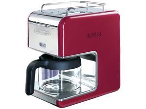 DeLonghi DCM02RED Red 5 Cup kMix Drip Coffee Maker