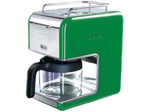 DeLonghi DCM02GREEN Green 5 Cup kMix Drip Coffee Maker