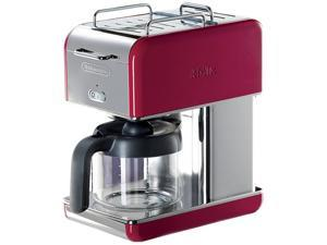 DeLonghi DCM04RED Red 10 Cup kMix Drip Coffee Maker