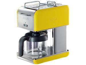 DeLonghi DCM04YELLOW Yellow 10 Cup kMix Drip Coffee Maker
