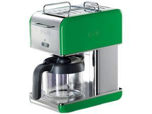 DeLonghi DCM04GREEN Green 10 Cup kMix Drip Coffee Maker