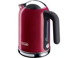 DeLonghi DSJ04RED Red 1.6 Liter (54oz) Kettle