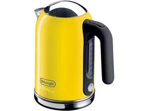 DeLonghi DSJ04YELLOW Yellow 1.6 Liter (54oz) Kettle