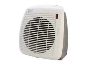 Delonghi HVY1030 750 - 1500 W Fan Heater, White with Gray Face Plate