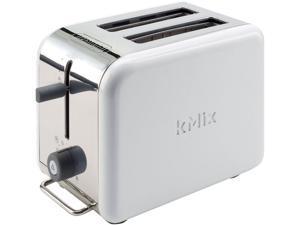 DeLonghi DTT02WH White kMix 2-Slice Toaster
