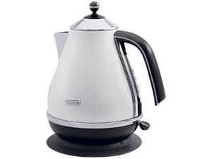 DeLonghi KBO1401W White Icona 57.5 oz. Electric Kettle
