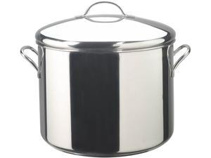FARBERWARE 50009 Stainless Steel 16 Qt. 16 Quart Covered Stockpot