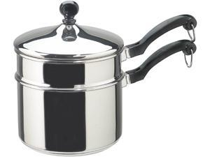 Farberware 2-qt. Classic Series Saucepan with Double Boiler Insert