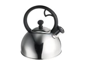 FARBERWARE 50122 Stainless Steel Classic Sonoma 2.5 Quart Whistling Stainless Steel Teakettle