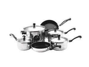Faberware 71237  Stainless Steel 10 Piece Cookware Set