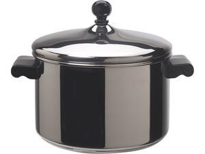 FARBERWARE 50004 Classic Stainless Steel 4-Quart Covered Saucepot