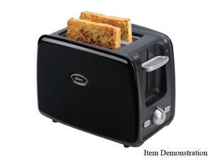 OSTER 006346-000-000 Black 2 Slice Retractable Cord Toaster