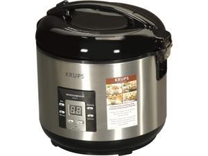 KRUPS RK701150 Silver Rice Cooker
