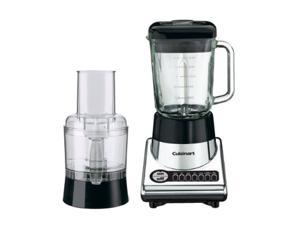 Cuisinart BFP-10CH Chrome PowerBlend Duet Blender/Food Processor 7 Speeds