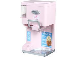 Cuisinart ICE-45PK Mix It In Soft Serve Ice Cream Maker (Pink)