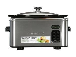 Cuisinart PSC-650 Silver 6.5 Qt. Programmable Slow Cooker