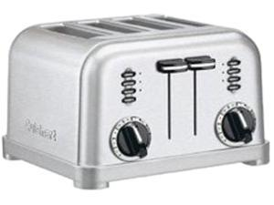 Cuisinart CPT-180W White Stainless Metal Classic 4-Slice Toaster