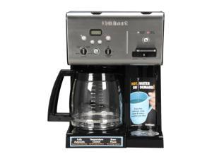 Cuisinart CHW-12 Black/Stainless Coffee Plus 12-Cup Programmable Coffeemaker plus Hot Water System