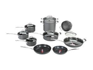 Cuisinart 66-17 Chef's Classic 17-Piece Cookware Set Nonstick Hard-Anodized