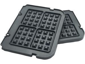Cuisinart GR-WAFP Black Griddler Waffle Plates