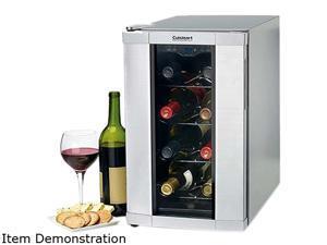 Cuisinart CWC-800 8-Bottle 8 Bottle Private Reserve Wine Cellar Silver