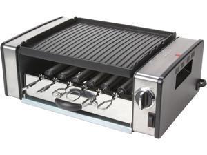 Cuisinart GC-15 Silver Griddler Compact Grill Centro