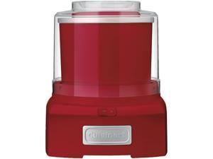 Cuisinart ICE-21R Frozen Yogurt - Ice Cream & Sorbet Maker Red