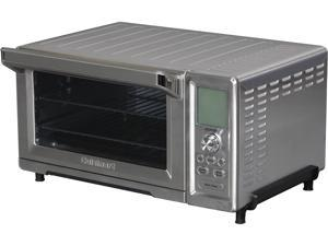 Cuisinart TOB-260 Stainless Steel Dual Cook Speed Convection Toaster Oven Broiler