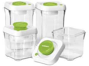 Cuisinart CFS-TC-S8G 8 Pc Set Green Container