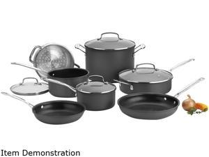 Cuisinart 66-11 Chef's Classic Non-Stick Hard Anodized Cookware 11-Piece Set