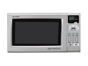 Sharp 900 Watts 0.9 Cu.Ft. Convection Microwave Oven R-820JS Silver