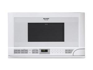 Sharp R-1211 1.5 cu. ft. 1100W Sensor Over-The-Counter Microwave