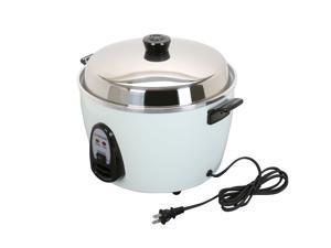 TATUNG TAC-10G(SF) 10 Cups Multifunction Indirect Heat Rice Cooker Steamer and Warmer, White