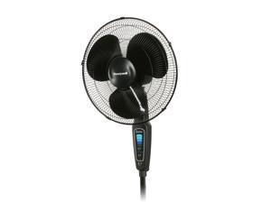 """Honeywell HS-1655 Quietset 16"""" Stand Floor Fan 5 Speed Adjustable Height"""