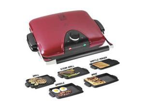 salton GRP90WGR Red George Foreman G5 Grill