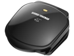 George Foreman Basic Plate Grill and Panini-Black GR10B